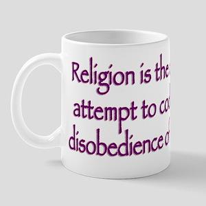 Divine disobedience Mug
