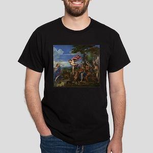 Bacchus and Ariadne Dark T-Shirt