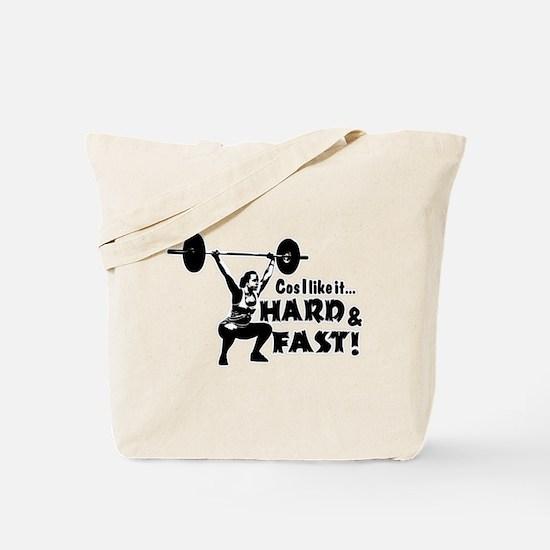 Cos I Like It Hard and Fast Tote Bag