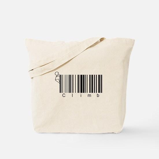 Bar Code Climb Tote Bag