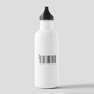 Bar Code Climb Stainless Water Bottle 1.0L