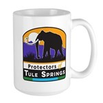 Protectors of Tule Springs Logo Mugs