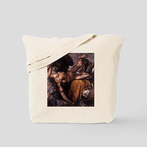 Punishment of Tythus Tote Bag