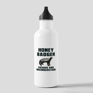 Honey Badger Vicious & Misunderstood Stainless Wat