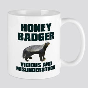 Honey Badger Vicious & Misunderstood Mug
