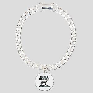 Honey Badger Vicious & Misunderstood Charm Bracele