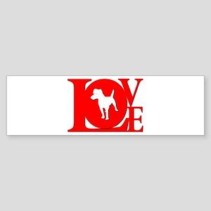 Patterdale Terrier Bumper Sticker