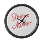 Divine Mother Large Wall Clock