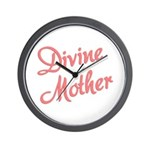 Divine Mother Wall Clock