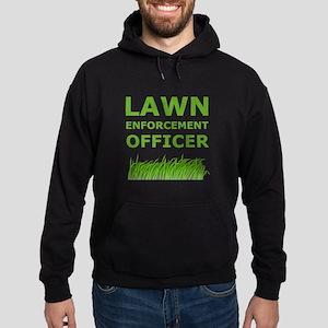 Lawn Enforcement Officer Hoodie (dark)