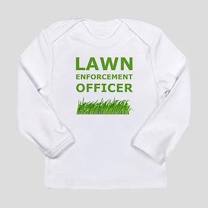 Lawn Enforcement Officer Long Sleeve Infant T-Shir