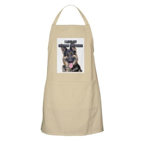 German Shepherd BBQ Apron