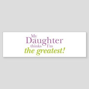 My Daughter Sticker (Bumper)