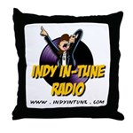 Indy In-Tune Logo 2014 - Light Throw Pillow