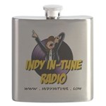 Indy In-Tune Logo 2014 - Light Flask