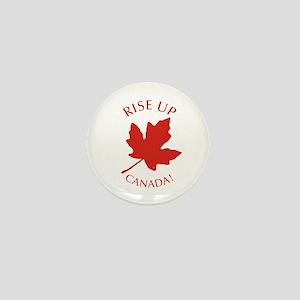 Rise Up Canada! Mini Button