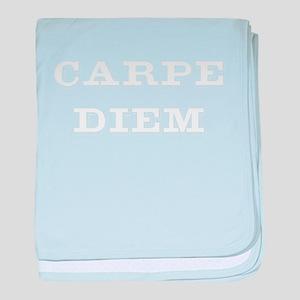 """""""Carpe Diem"""" baby blanket"""