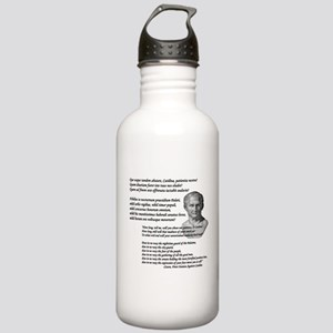 """Quo Usque Tandem..."" Stainless Water Bottle 1.0L"