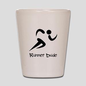 Runner Dude Shot Glass