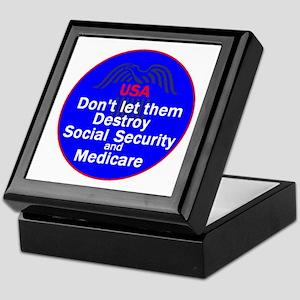 Social Security Keepsake Box