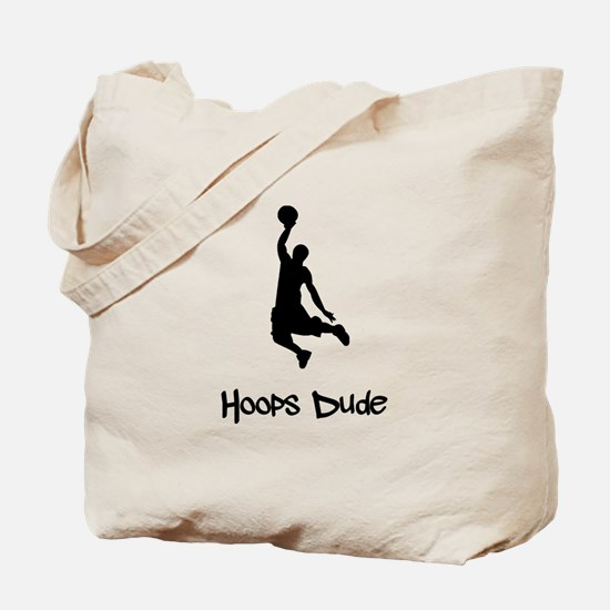 Hoops Dude Tote Bag