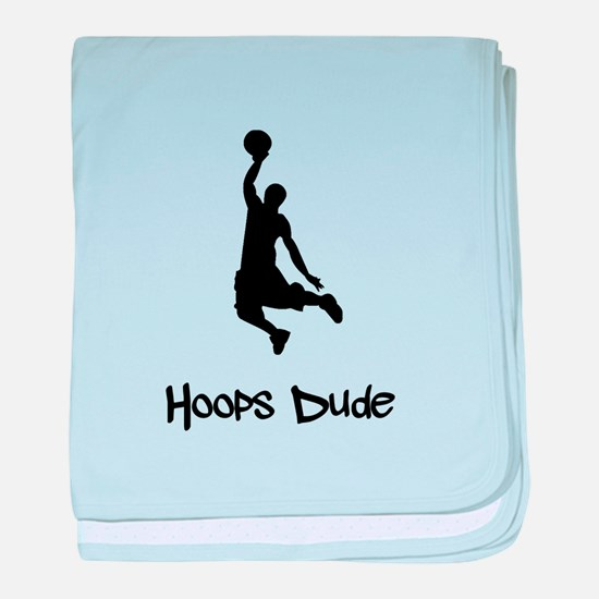 Hoops Dude baby blanket