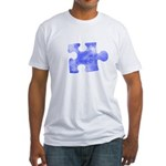MY MISSING PIECE Fitted T-Shirt