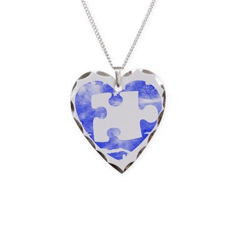 MY MISSING PIECE Necklace Heart Charm