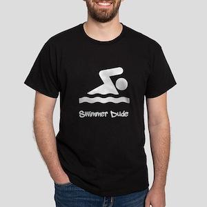 Swimmer Dude Dark T-Shirt