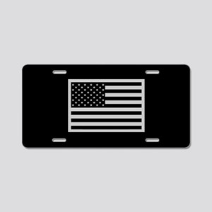 201660d53c5f0 Subdued US Flag Tactical Aluminum License Plate