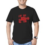 MY MISSING PIECE Men's Fitted T-Shirt (dark)