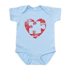 MY MISSING PIECE Infant Bodysuit