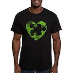 MY MISSING PIECE Men's Fitted T-Shirt (dark)