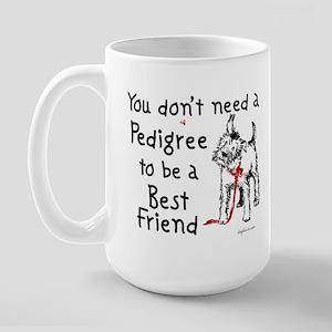 No Pedigree Needed Large Mug