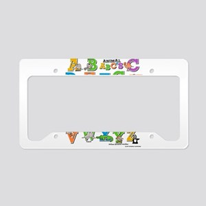 ABC Animals License Plate Holder