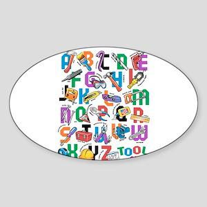 ABC Tools Sticker (Oval)