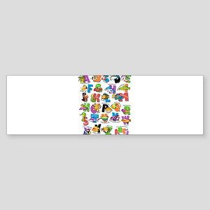 ABC Aquatic Sticker (Bumper)