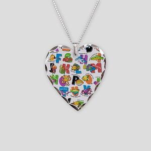 ABC Aquatic Necklace Heart Charm