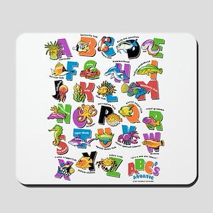 ABC Aquatic Mousepad