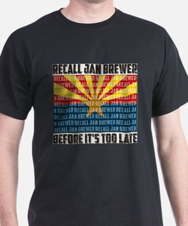 Recall Jan Brewer T-Shirt