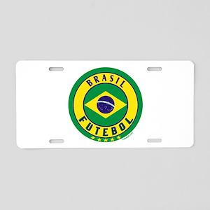 Brasil Futebol/Brazil Soccer Aluminum License Plat