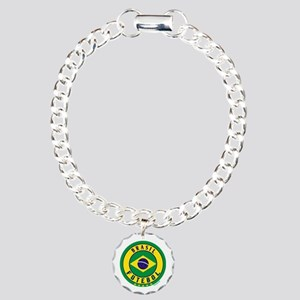 Brasil Futebol/Brazil Soccer Charm Bracelet, One C