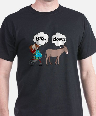 Ass Clown Black T-Shirt