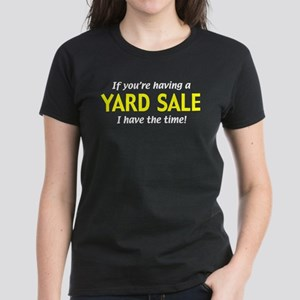 garage sales Women's Dark T-Shirt