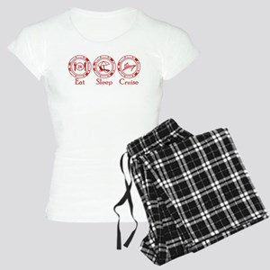 Eat Sleep Cruise Women's Light Pajamas
