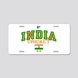 IN India Indian Cricket Aluminum License Plate