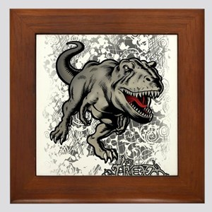 Big Rex Framed Tile