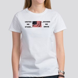 United We Stand, Divided We D Women's T-Shirt