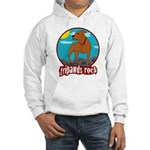 Tripawds Rock Front Leg Pit B Hooded Sweatshirt