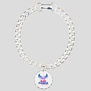 Air Force Girlfriend - Wings - Charm Bracelet, One
